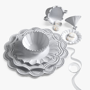 tableware set model