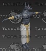 anubis god death 3D