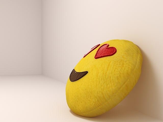 emjo pillow 3D model