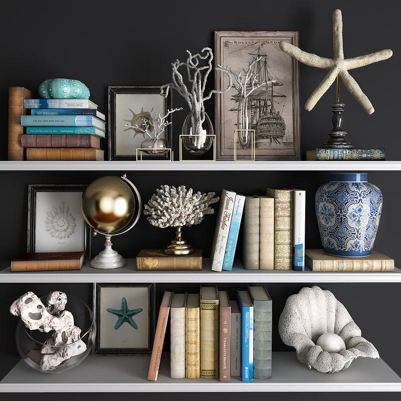 decorative set 16 3D model