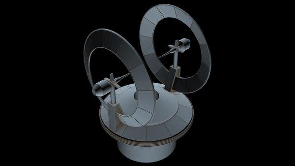 starship star 3D model