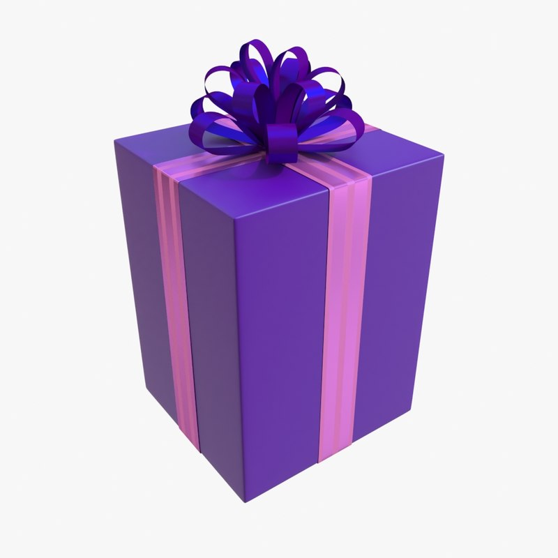 christmas boxes 3D