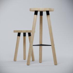 stool 3D