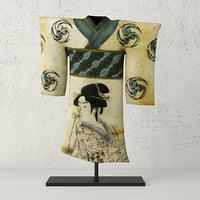 painted shell kimono 3D model