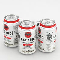 3D cola alcohol bacardi