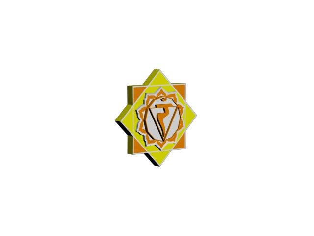 manipura chakra model