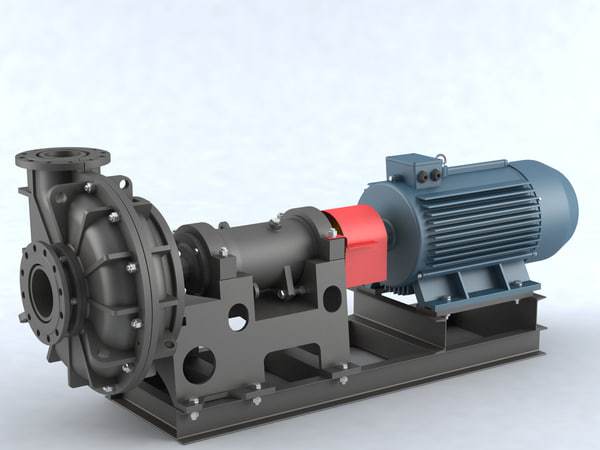 3D pump centrifugal