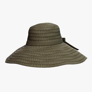 3D hat 3 model