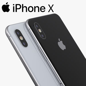 iphone x 3D