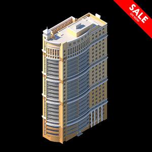 3D residential house