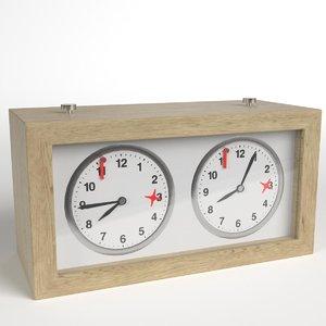 3D chess clock 1