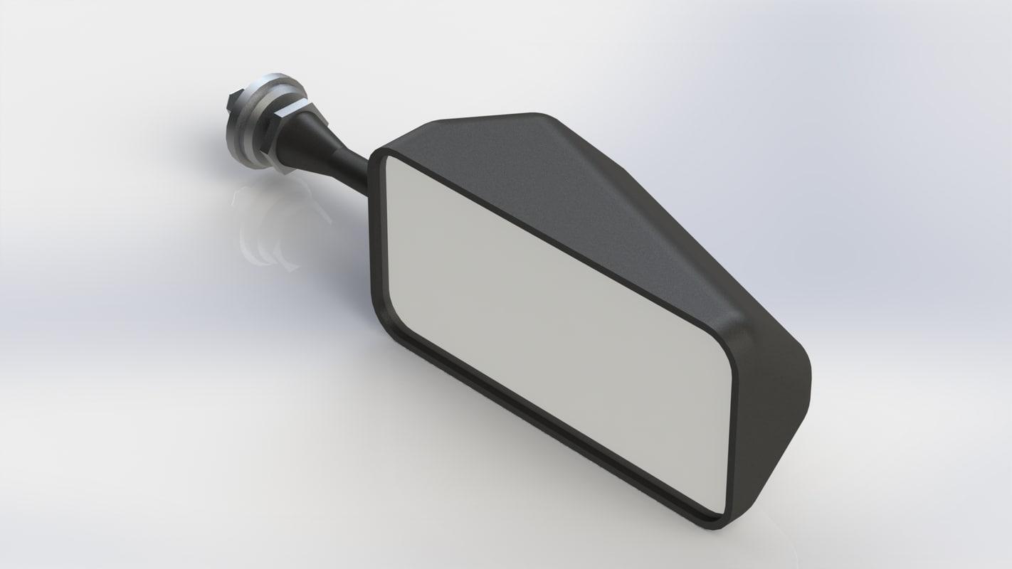 3D model racetech mirror
