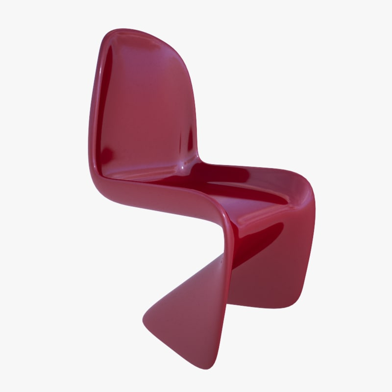 3D Modern Kids Chair; 3D Modern Kids Chair ...