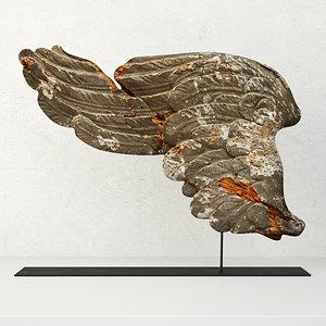 17th century italian carved 3D model