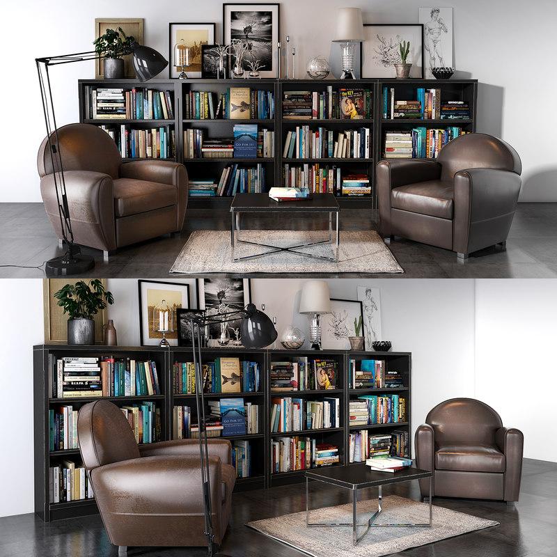neology paris armchair 3D model