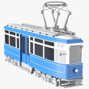 3D reduced tram