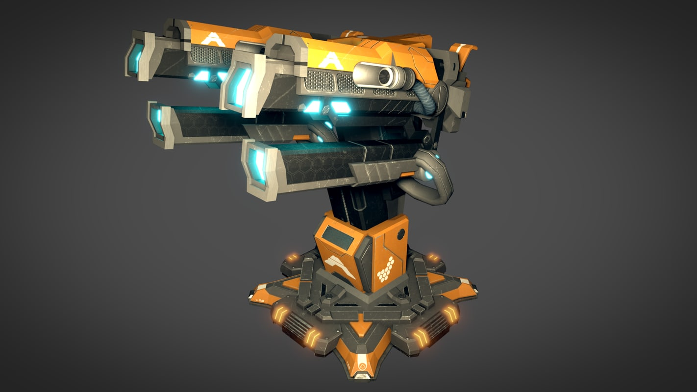plasma cannon model
