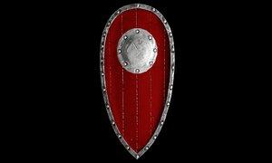 shield blender 3D model