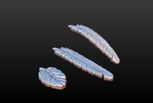 feathers 3D model