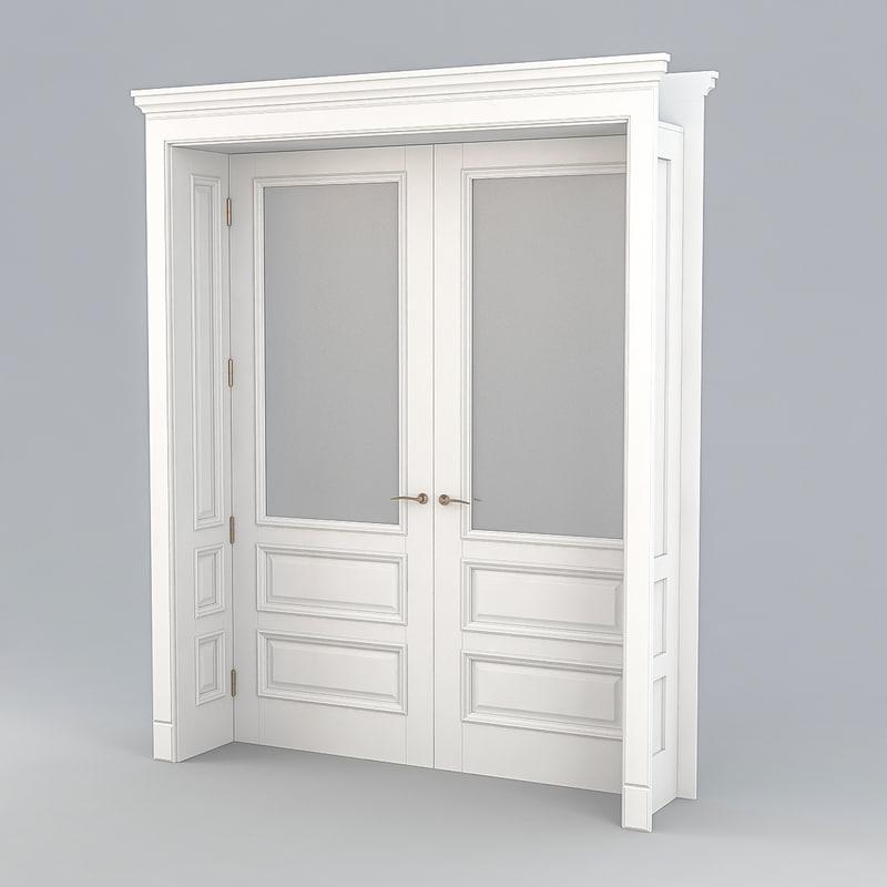 3D interiors door