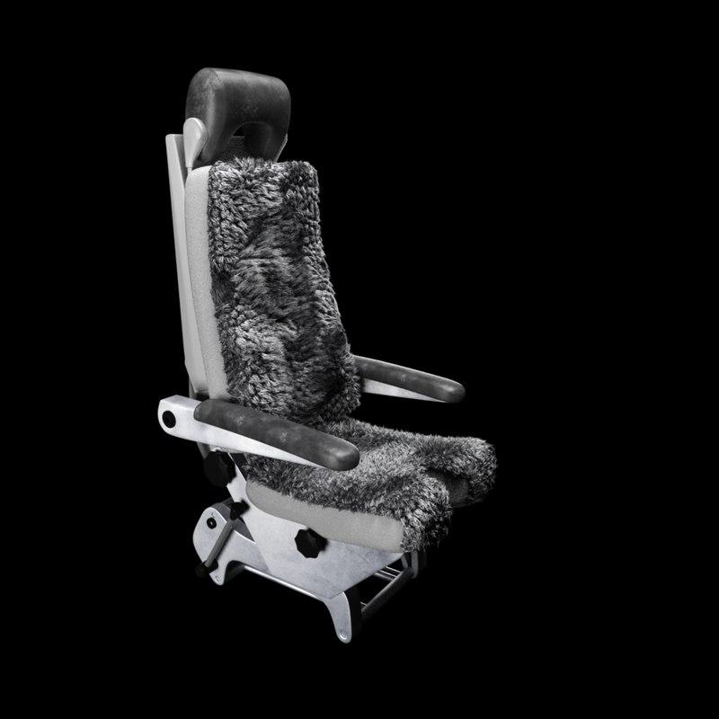 captain seat 3D model