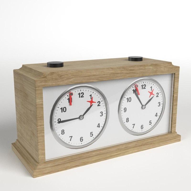 chess clock 2 model