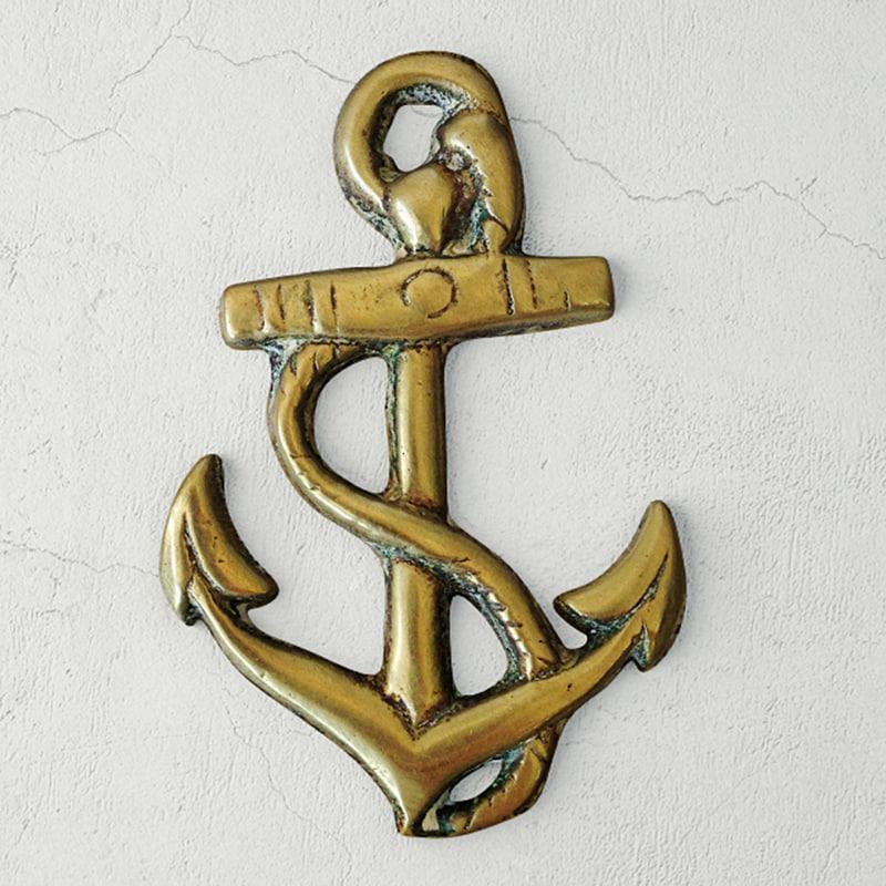 brass anchor 3D model