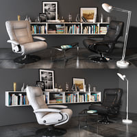 3D thor reclining chair lafer