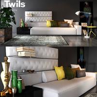 twils living set 01a model