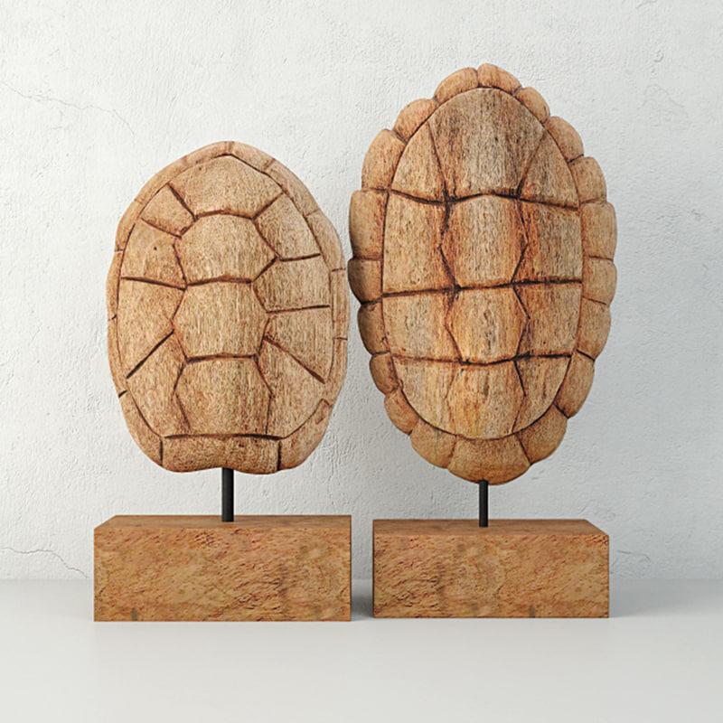 3D sunset cove tortoise shell