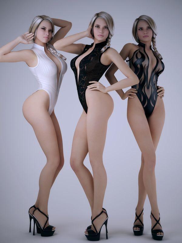 female body 3D