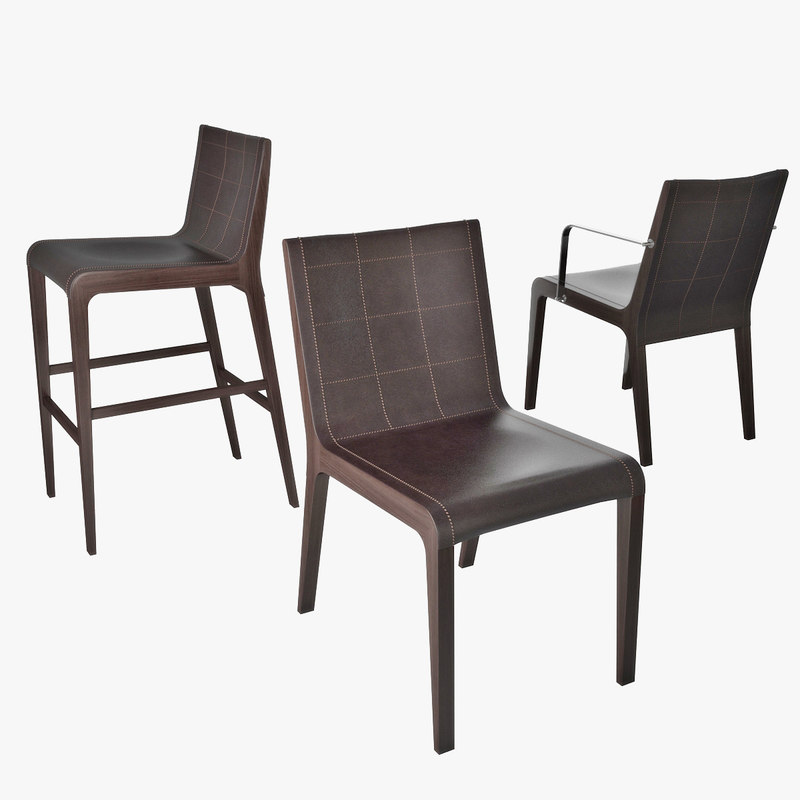chairs tosca 3D