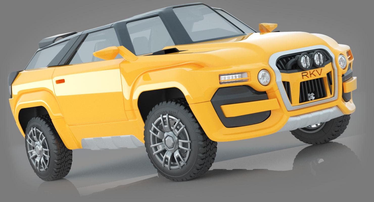 3D concept offroad
