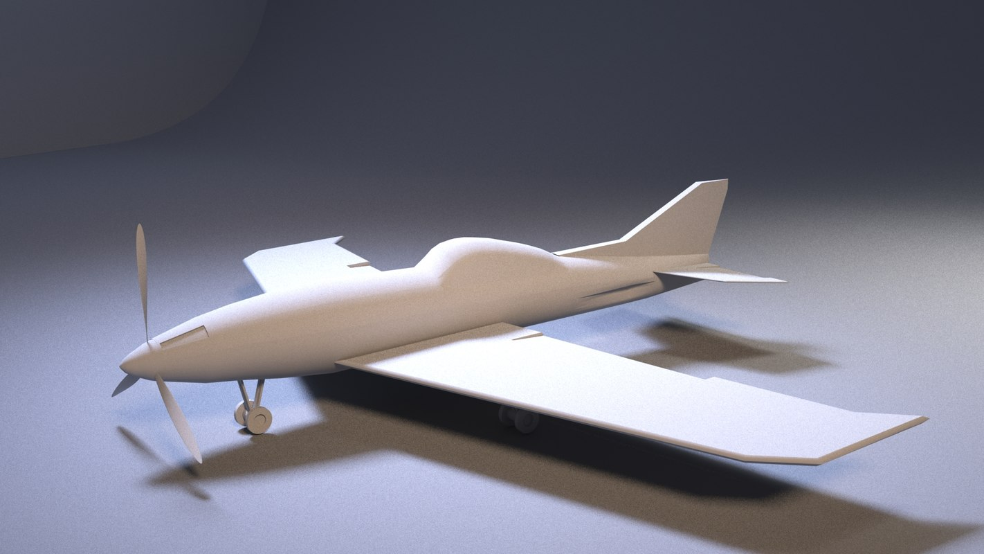 3D model air aircraft