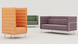 sofa alt dls ukraine 3D model