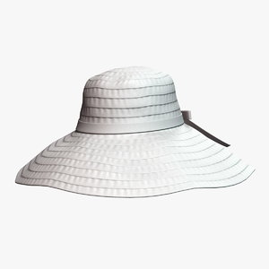 3D model hat 7