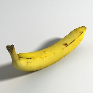 3D banana