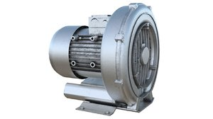 3D model industrial blower