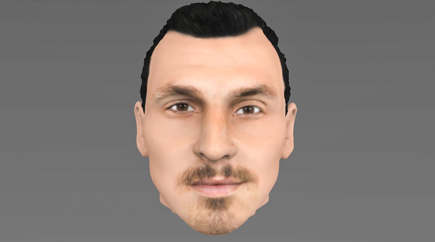 head ibrahimovic 3D