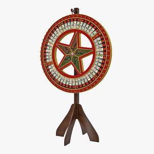 wheel fortune stand model