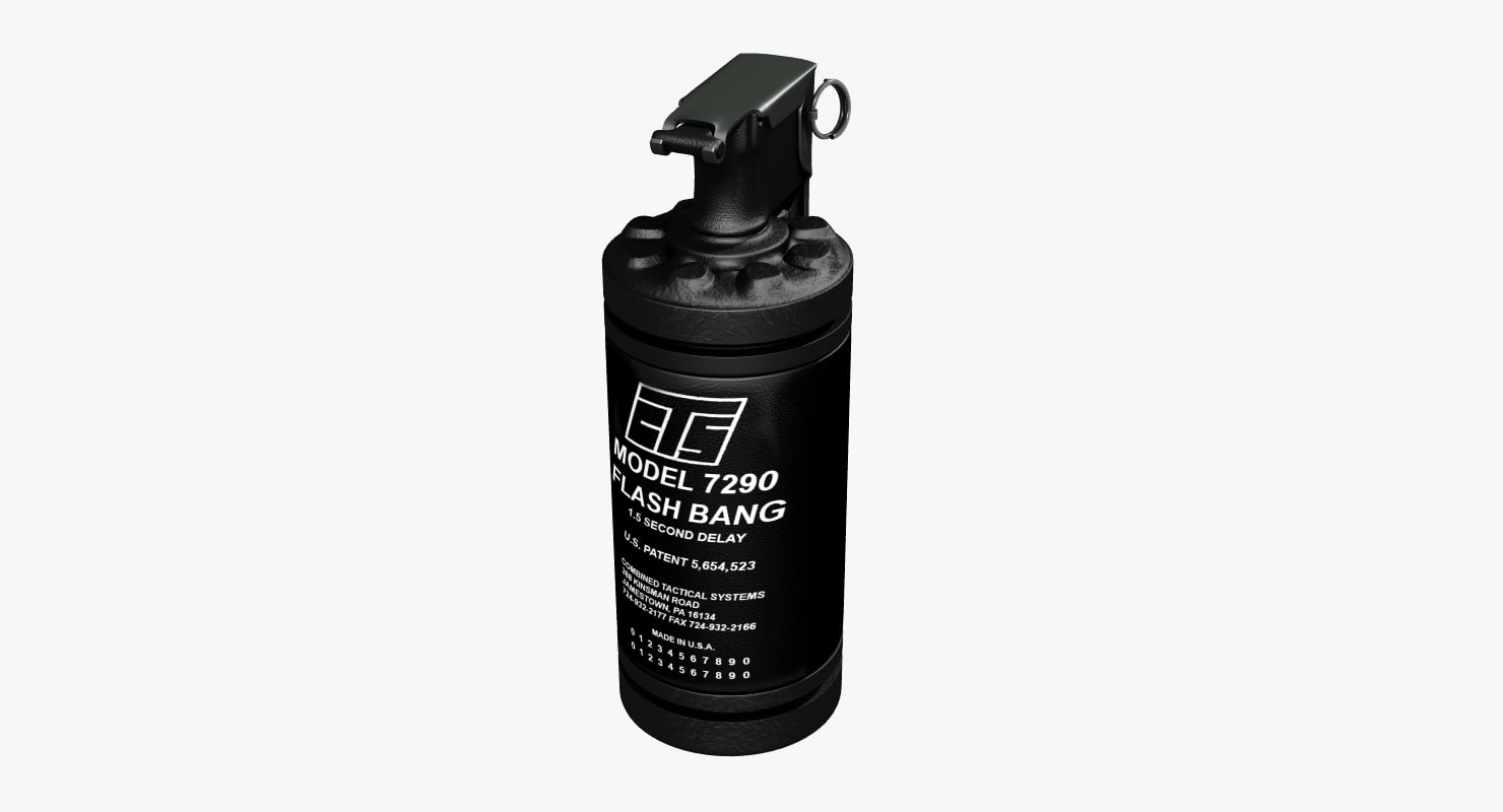 flashbang 7290 3D model