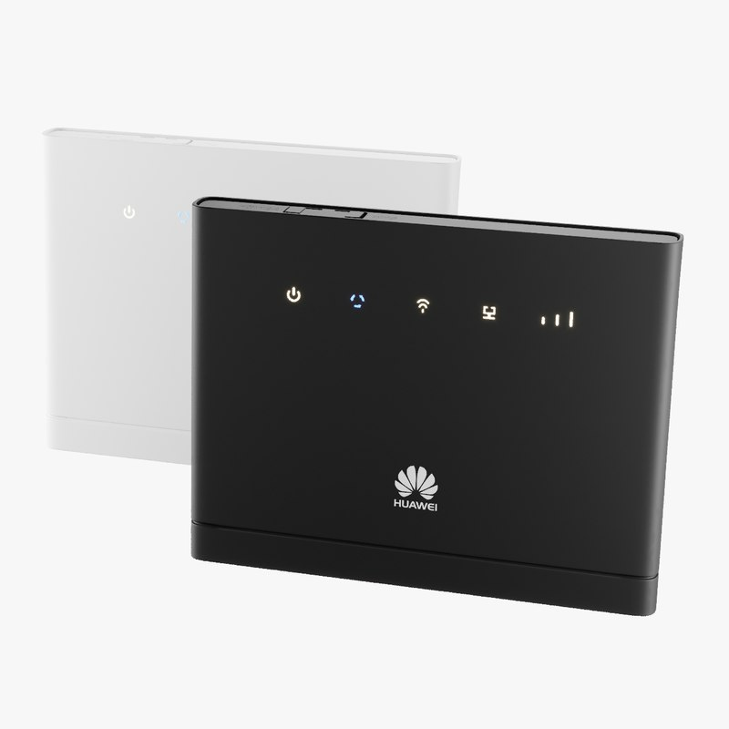 wireless router huawei b315 3D model