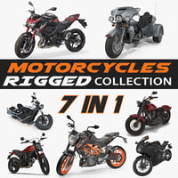 Rigged Motorcycles Collection