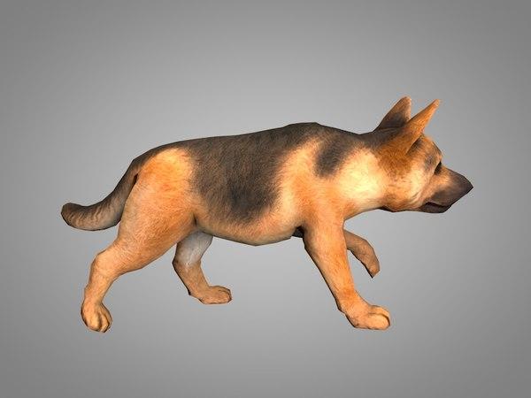 shepherd 3D model