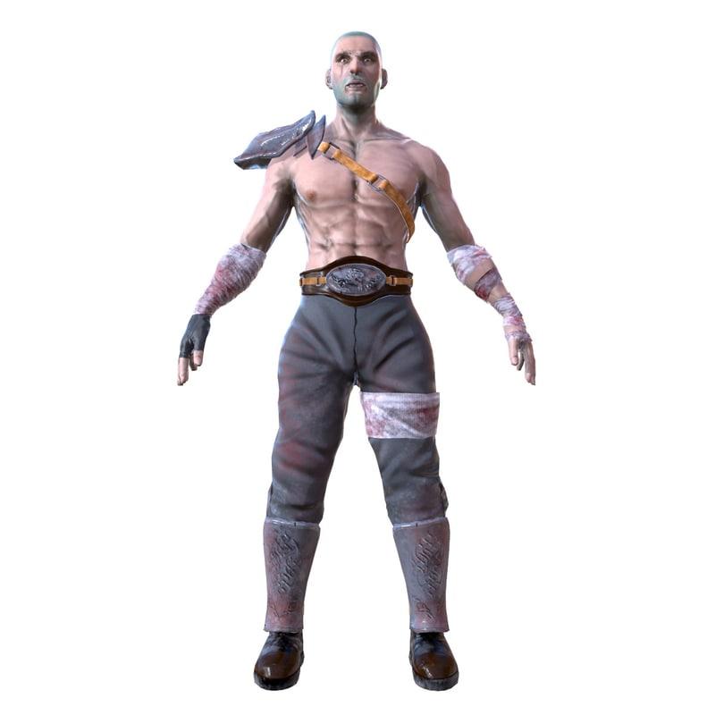 3D warrior body armore