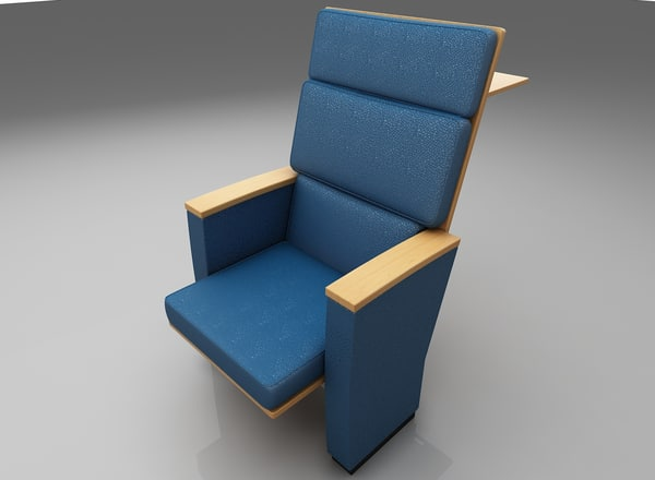 chair conference 3D model