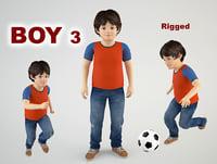 boy 3D