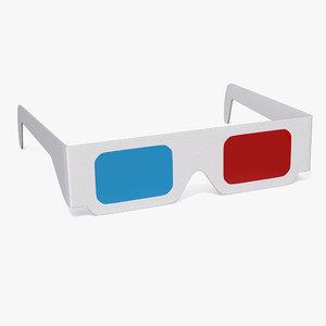 paper glasses model