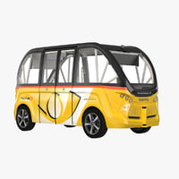 NAVYA ARMA YELLOW 3D