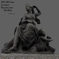 3D statue
